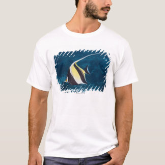 Underwater life;FISH: A Moorish Idol (Zanclus T-Shirt