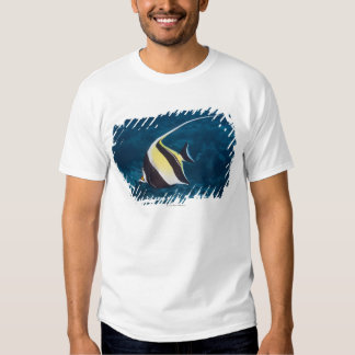 Underwater life;FISH: A Moorish Idol (Zanclus Tee Shirt