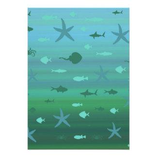 Underwater Life Announcements
