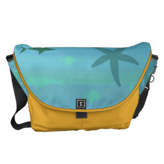 Underwater Life Courier Bags