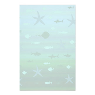Underwater Life Stationery
