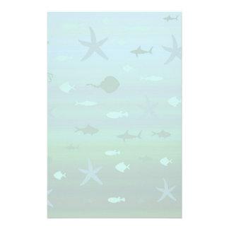 Underwater Life Stationery