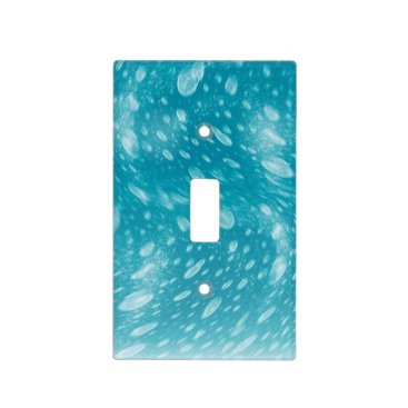 Beach Themed Underwater Light Switch Cover