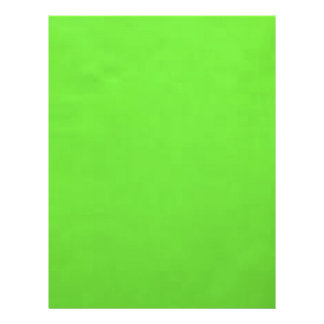 underwater lime green flyer