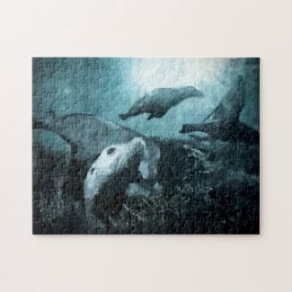 Underwater Living Challenging Jigsaw Puzzle