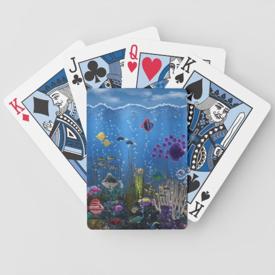 Underwater Love - Bicycle Playing Cards