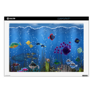 """Underwater Love - Decal For 17"""" Laptop"""