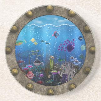 Underwater Love - Drink Coaster