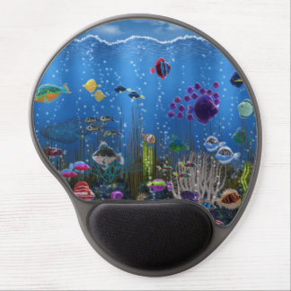 Underwater Love - Gel Mouse Pads