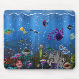 Underwater Love - Mouse Pad