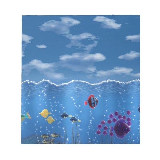 Underwater Love - Notepad