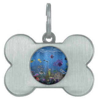 Underwater Love - Pet Tag