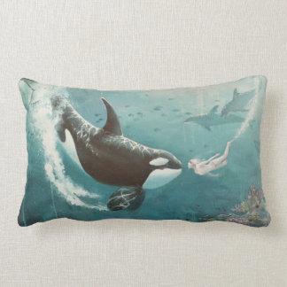 Underwater Love Throw Pillows