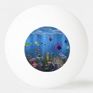 Underwater Love Ping-Pong Ball