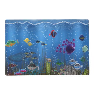 Underwater Love Placemat