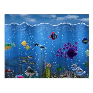 Underwater Love - Postcard