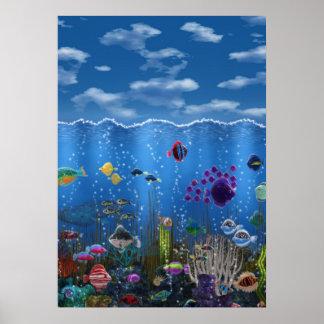 Underwater Love - Posters