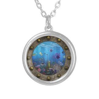 Underwater Love - Silver Plated Necklace