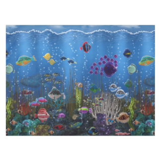 Underwater Love Tablecloth