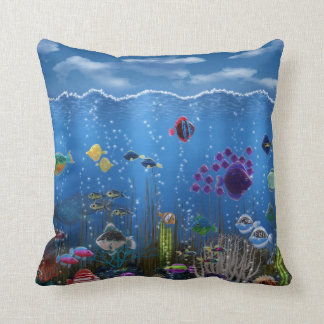 Underwater Love - Throw Pillow