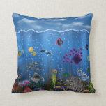 Underwater Love - Throw Pillows