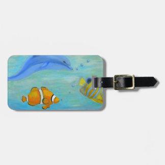 Underwater Luggage Tag