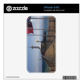 Underwater Marine Park, observation tower 2 iPhone 4S Skin