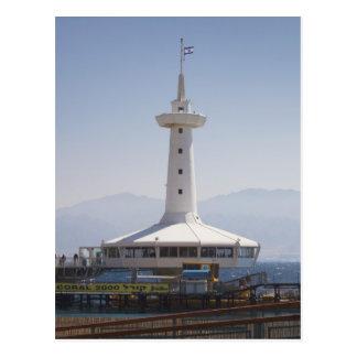 Underwater Marine Park, observation tower Postcard