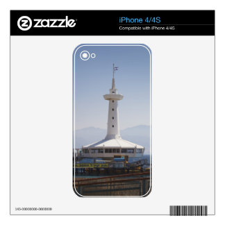 Underwater Marine Park, observation tower Skin For iPhone 4S
