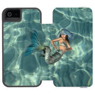 Underwater Mermaid iPhone SE/5/5s Wallet Case