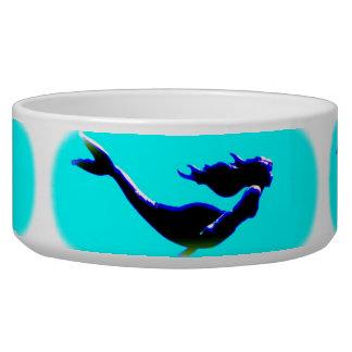 underwater mermaid swimming bowl