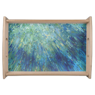 Underwater Ocean Reflections Bar & Kitchen Tray