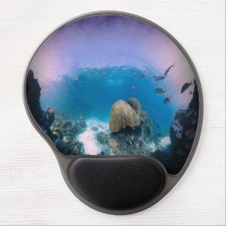 Underwater Ocean scene Gel Mousepad