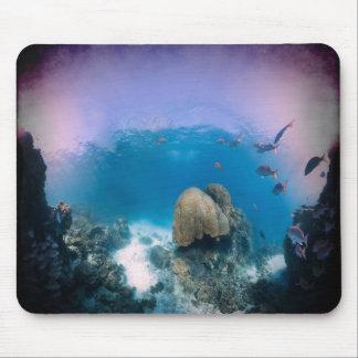 Underwater Ocean Scene Mouse Pad