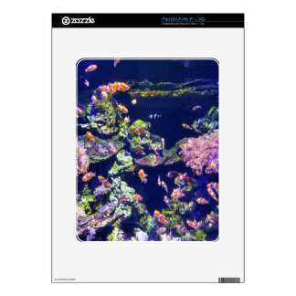 Underwater Orange Clown Fish Around Coral iPad Skin