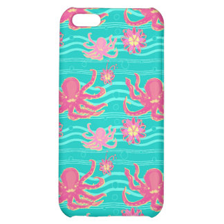 Underwater Pink Octopus Pattern Speck Case iPhone 5C Cases