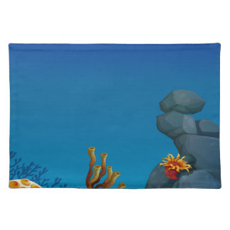Underwater Cloth Place Mat