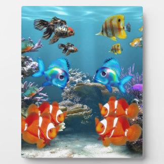 Underwater Plaque