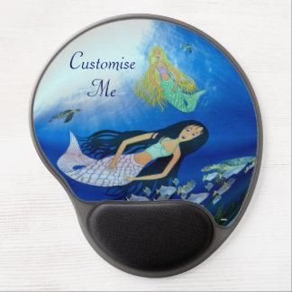 Underwater Play (Mermaid) Gel Mouse Pad