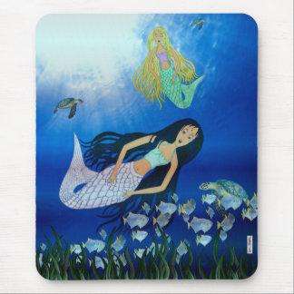 Underwater Play (Mermaid) Mouse Pad