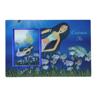 Underwater Play (Mermaid) Placemat