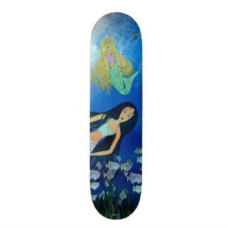 Underwater Play (Mermaid) Skateboard Deck
