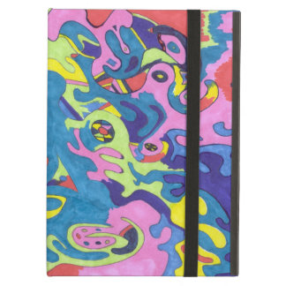 """Underwater Playground"" Abstract Art iPad Air Case"