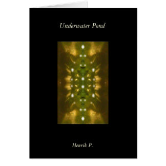 Underwater Pond Card