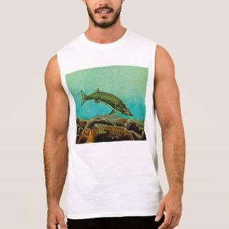 Underwater Predators panel 2 The Pike Sleeveless Shirt