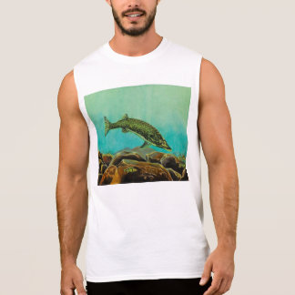 Underwater Predators panel 2 The Pike Sleeveless T-shirts