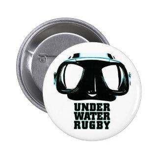 Underwater Rugby Button