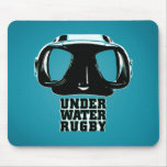 Underwater Rugby Mousepad 2