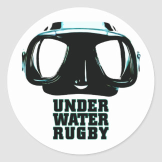 Underwater Rugby Sticker