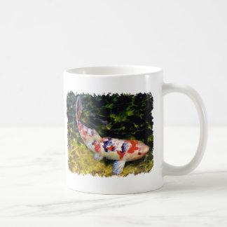 Underwater Sanke Koi Classic White Coffee Mug